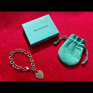 Tiffany & Co. Heart Tag Charm Bracelet